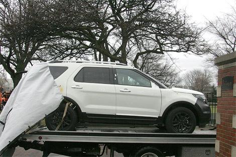 d184d0bed180d0b42 Шпионские фото нового Ford Explorer